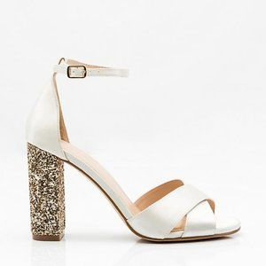 2/$25 NIBWT Glitter Block Heel Sandal